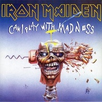 "Iron Maiden - Can I Play With Madness (Vinyl 7"")"