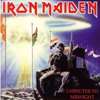 "Iron Maiden - 2 Minutes To Midnight (Vinyl 7"")"