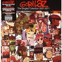 "Gorillaz - The Singles Collection 2001-2011 (Vinyl 7"")"
