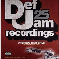 Various - Def Jam 25: DJ Bring That Back. Volumes 1 & 2 (2008 - 1984) (Vinyl LP)
