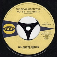 "Gil Scott-Heron - The Revolution Will Not Be Televised (Vinyl 7"")"