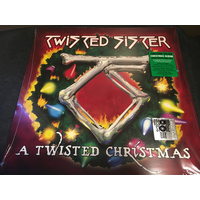 Twisted Sister ‎– A Twisted Christmas (Vinyl LP)