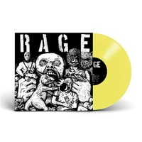 Rage - Rage (Limited Edition Yellow Vinyl)