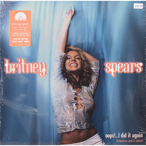 Britney Spears ‎– Oops!...I Did It Again Remixes and B-Sides (Vinyl LP)